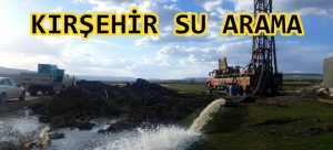 kırşehir su arama