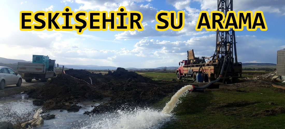 eskişehir su arama