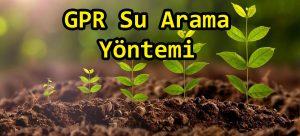 GPR Su Arama Yöntemi2